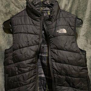 Kids North Face Reversible Vest